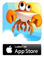CrazyCrab Spiel bei Oliver Pearl- iPhone, iPad und iPod touch