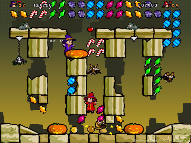 Screenshot du jeu Bonbon Quest - Ruines chair-de-poule