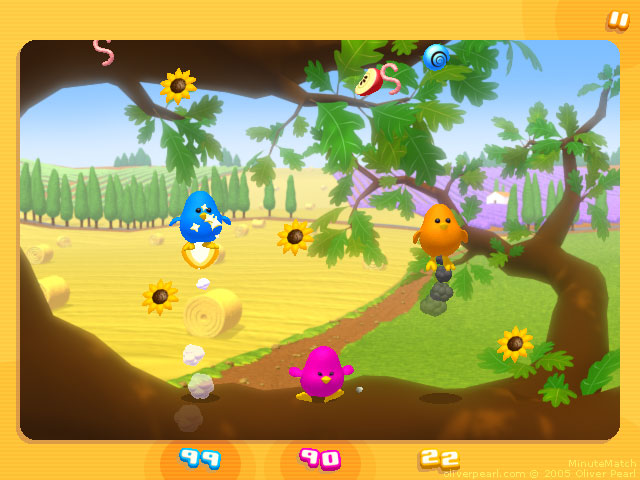 MinuteMatch - Birds mini-game